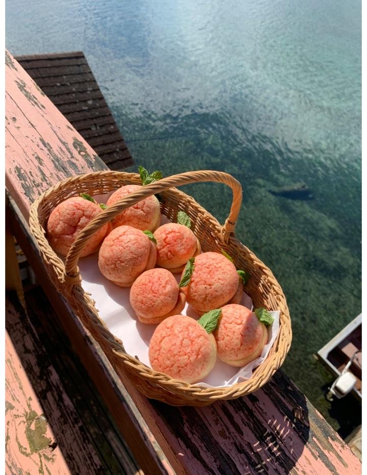 Italian Peach Cookies